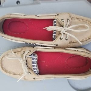 Sperry Womens 6.5 Anchor Boat Shoes Top Siders